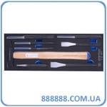 Набор инструментов молоток, зубила, выколотки и керн 8 предметов(EVA FOAM) 9-90118PRV King Tony
