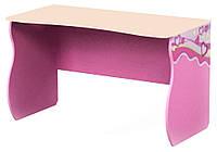 """Детский письменный стол """"Pink Pn-08-1"""" Дорис"""