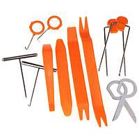 Набор из 12 инструментов для снятия обшивки, молдингов