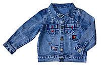 Джинсовая куртка для мальчика Overdo Kids 4515 р.110 голубой