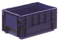 Пластиковый ящик 300x200x147, дно перфорированное