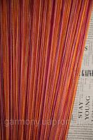 Шторы ниточные радуга вертикальная (102), фото 1