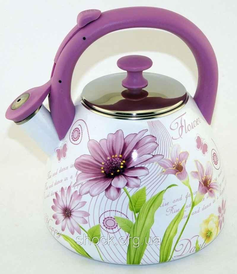 Эмалированный чайник 3 л Maestro MR 1323