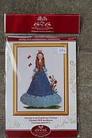Набор для вышивания нитками принцесса ВДВ