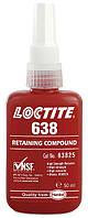 Вал-втулочный фиксатор Loctite 638 (Локтайт 638) — для фиксации цилиндрических узлов, валов, шестеренок, 50 мл