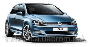 Накладка заднего бампера VOLKSWAGEN Golf