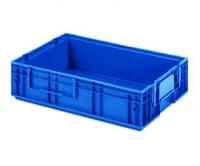 Пластиковый ящик 600x400x147, гладкое дно