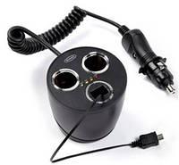 Двойной разветвитель для гнезда автомобильного с разъемом micro USB Twin 12V & Micro USB Can multisocket RMS13