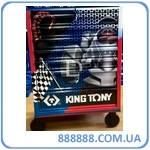 Тумба на колесах, 7 ящиков, подшипник, тормоз,  !выставочная! 87434-7BUT King Tony