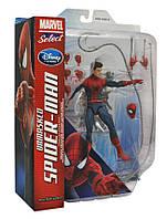 """Фигурка Человек-Паук (Питер Паркер) """"Без Маски"""" - The Amazing Spider-Man 2 Unmasked, Marvel Select"""