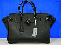 Большая чёрная сумка HERMES от производителя  BALINA