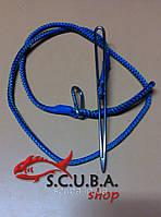 Кукан для рыбы VERUS игла со шнурком