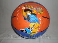 Мяч баскетбольный  с изображением игрока  №7