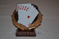 """Фигурка наградная """"Покер"""