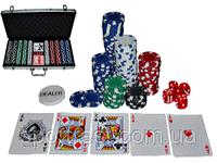 """Набор для покера 500 фишек Sprinter в алюминиевом кейсе """"TEXAS HOLDEM"""" Новинка!!!"""