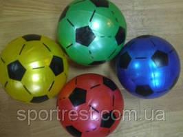 Мячик игровой с футбольным рисунком. Диаметр 18 см. 10 шт