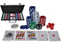 """Набор для покера   в алюминиевом кейсе """"TEXAS HOLDEM"""" без номинала"""