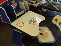 Детская парта со стульчиком трансформер-60304 (ПРОТО ТИП 2881). киев, фото 1