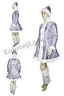 Сказочный костюм Снегурочки напрокат
