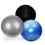 Мяч для фитнеса фитбол d — 85 см гладкий