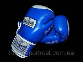 Перчатки бокс SPRINTER TIGER-STAR кожа