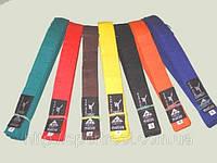 Пояс каратэ для кимоно MATSA  хлопок, р-р 0-7, 230см-300см