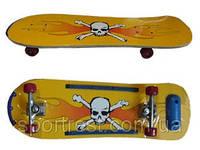 Скейт (46*25, колёса PVC, алюминиевая подвеска)