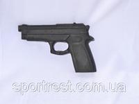 Муляж-пистолет резиновый тренировочный
