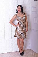 Ночная женская рубашка с тигровым принтом