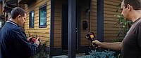 Тепловизионный контроль качества установки окон