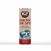 """K2 присадка в двигатель """"DOKTOR CAR SPEC"""" 443 ml"""