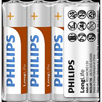 """Батарейка """"Philips"""" Long Life R03L4F AA"""