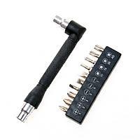 Набор отвертка-ключ магнитная +10бит R'Deer RT-1611