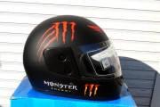 Шлем BLD Monster Energy черный мат