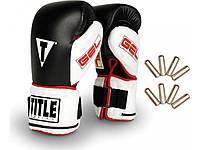 Перчатки для бокса с утяжелителями TITLE Gel Power Weighted Super