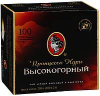 Чай Принцесса Нури Высокогорный черный пакетированный 100 шт 907138