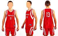 Форма баскетбольная подростковая NBA ROCKETS 13