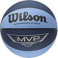 Баскетбольный мяч Wilson MVP BLU/BLA SZ6 BBALL SS14