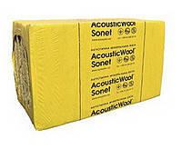 Минеральные плиты для звукоизоляции AcousticWool Sonet 50мм 48кг/куб.м.