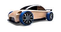Деревянный конструктор машинка Мини седан S9-R sport sedan Automoblox.  (55116)