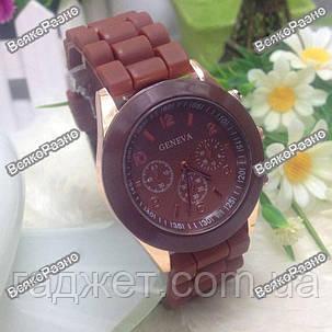 Женские часы Geneva ШОКОЛАДНЫЕ, фото 2
