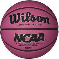 Баскетбольный мяч Wilson NCAA REPLICA PINK BKT SZ6 SS16
