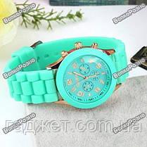 Яркие женские часы Geneva МЯТНЫЕ, фото 3