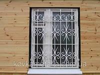 Решетка на окно кованая арт.рк 55