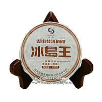 Чай Пуэр Шу Сяо Цзинь Би 2006 года прессованный 100г