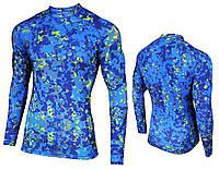 Спортивная мужская кофта Radical Furious LS Rushguard (original)(вторая кожа) Польша синий, XXL