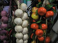 Лиана из фруктов и овощей