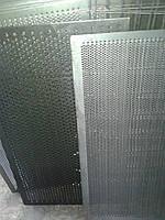 Решето ДДМ, ячейка 5 мм, толщина 2 мм, лист  500 х 1574 мм.