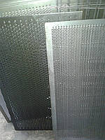 Решето ДДМ, ячейка 6.3 мм, толщина 3 мм, лист  500 х 1574 мм.