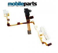 Аудио шлейф (audio flex cable) для Apple iPhone 3GS (High Copy) (Черный)